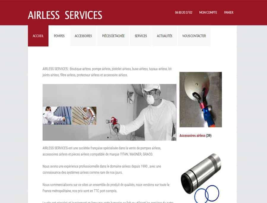 Airless service