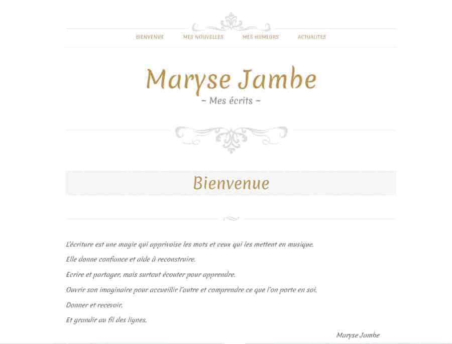 Maryse Jambe