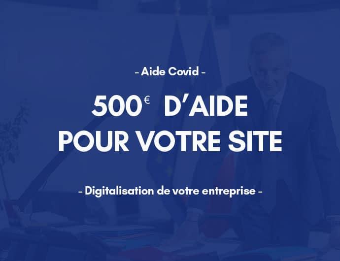 Aide 500 Euros Site Web Covid